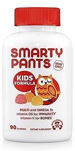 SmartyPants, vitatmins, multivitamins, health, kids, men, women, probiotic, immunity, vegan, non gmo