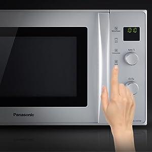 Panasonic NN-CT 57 jmgpg Inverter Micro-ondes Argent Micro-chauffer décongélation