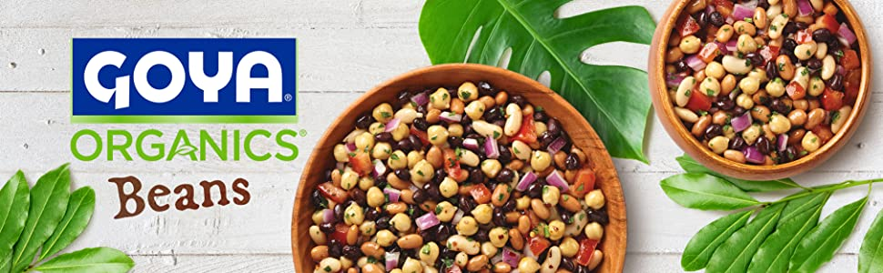 Goya Premium Organic Canned Beans