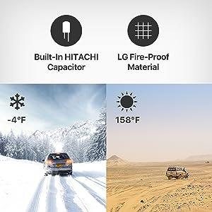 Amazon.com: Anker Roav Dual Dash Cam Duo, Dual FHD 1080p