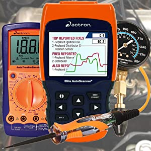 Actron Diagnostic Scan Tools Mechanical Tester Electronic Electrical Fuel Vacuum Timing Light