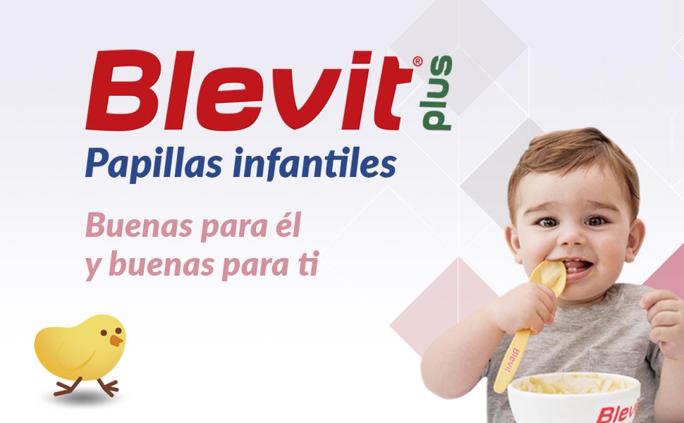 Blevit Plus 8 Cereales con Espelta y Plátano - 300 gr: Amazon.es ...