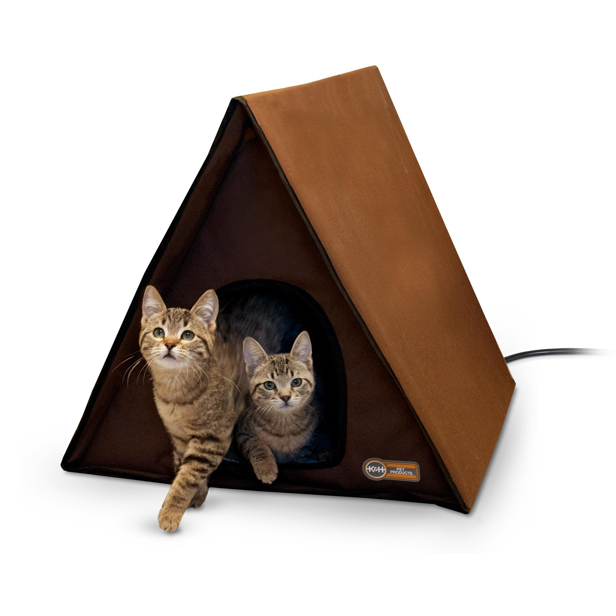 amazon com k h manufacturing outdoor kitty house 18 x 22 x 17