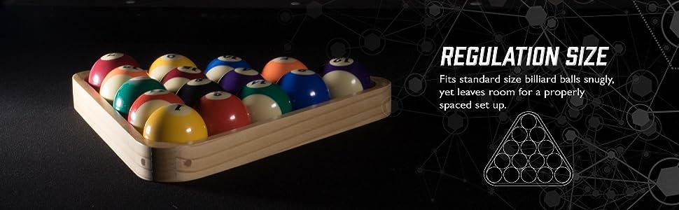 Amazon.com : Viper Billiard/Pool Table Accessory: 8-Ball Rack ...