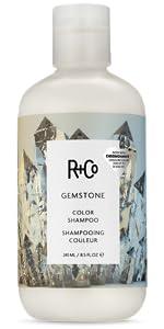 color hair shampoo