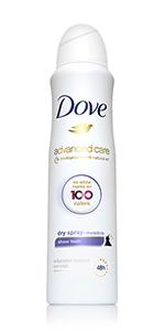 Dove Antiperspirant Deodorant Dry Spray