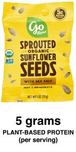 sunflower sprouted seeds organic healthy snacks go raw