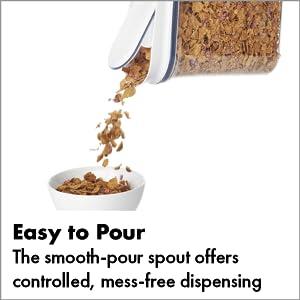Amazon Com Oxo Good Grips Airtight Pop Large Cereal