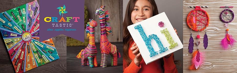craft-tastic craft kits for kids tweens teens millennials ann williams makers loopdedoo loopdeloom