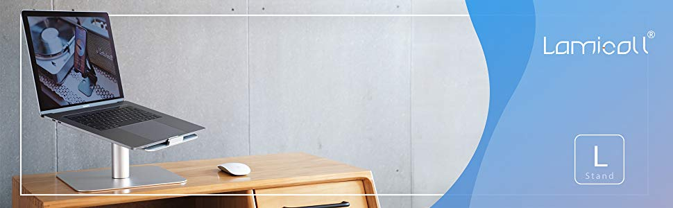 360-rotating Desktop Holder Special Buy Lamicall Laptop Riser : Helpful Laptop Notebook Stand