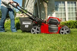 snapper xd mower operation