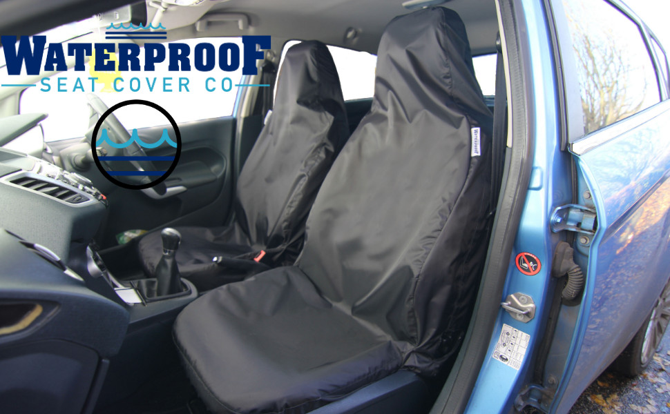 Semi-Tailored Front 3 Seat Covers Set to fit Renault Master Waterproof Seat Cover Co