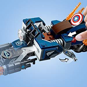 set lego capitan america