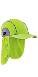 6650 High Performance Hat w/ Neck Shade