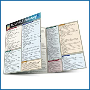 Quick Study QuickStudy Business Finance Laminated Study Guide BarCharts Publishing Business Guides