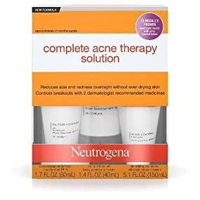 Neutrogena Complete Acne Therapy System (Pack of 6) Butterscotch DIY Lip Balm Kit