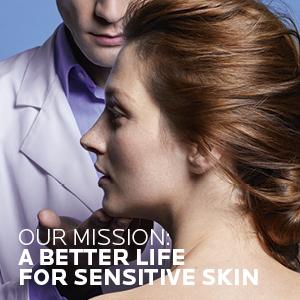 Mission: better life for sensitive skin