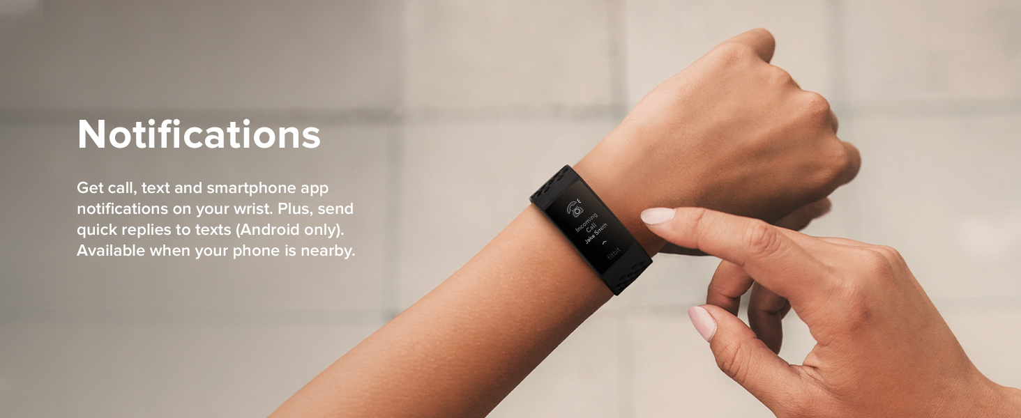 Fitbit Charge 4 - Notifications