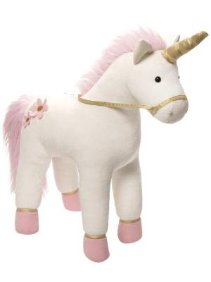 "GUND Lilyrose Unicorn Stuffed Animal Plush, White, 13"""