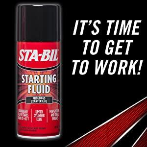 starting fluid, carb cleaner