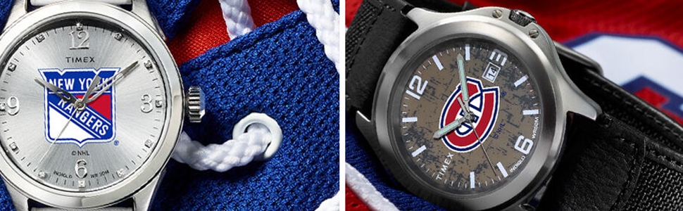 Timex, NHL Athena, Old School, New York, Rangers, Montreal, Canadians