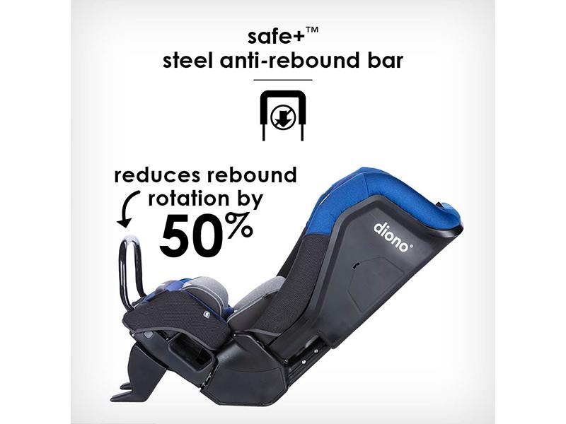 Safe+ steel anti-rebound bar
