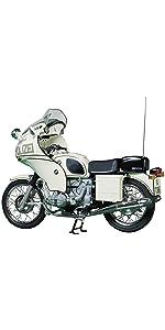 タミヤ 1/6 オートバイ No.6 1/6 BMW R75/5 ポリスタイプ 16006