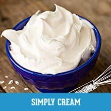 organic valley cream whipping cream whip dairy creamer