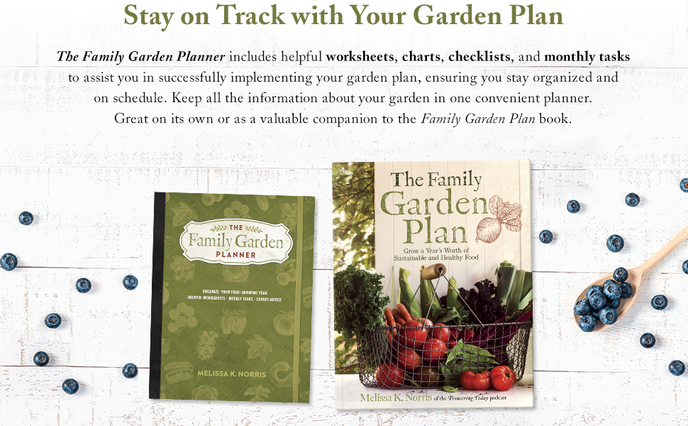 Garden Plan Organized Charts Worksheets Notes Reminders Schedule Convenient
