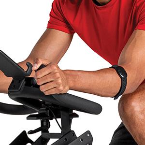 Schwinn IC4 Indoor Cycling Bike Bluetooth Heart Rate Arm Band