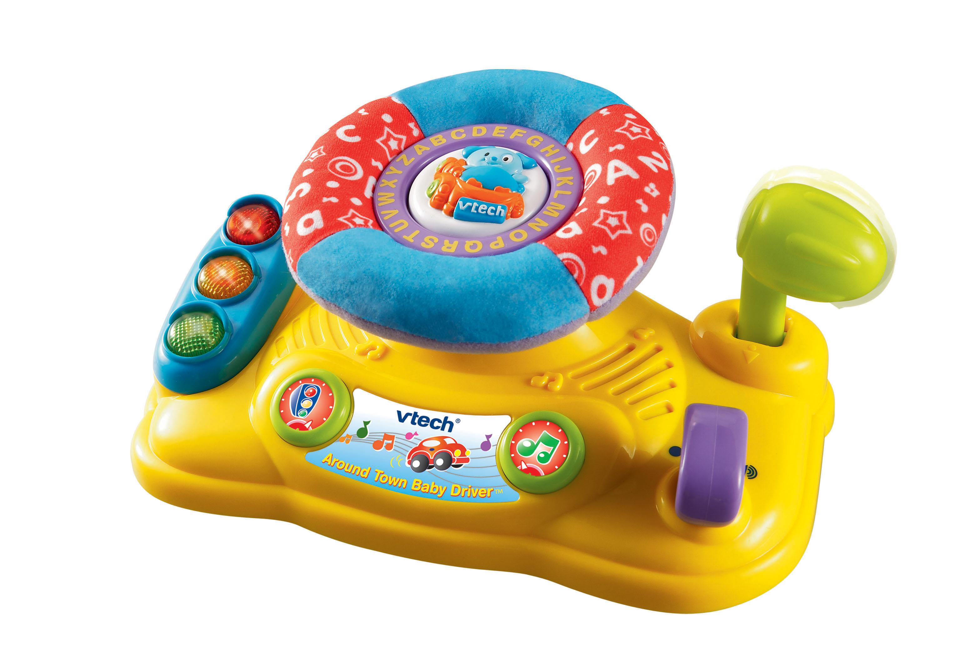 Amazon.com: VTech Baby Around Town Baby Driver: Toys & Games