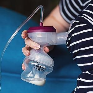 tommee tippee, breast pump, electric breast pump, breastfeeding