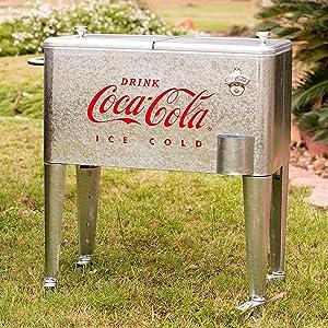 coke-cola cooler retro vintage