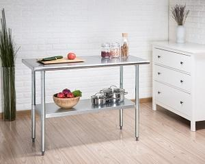 kitchen table, stainless steel, SS table, rockpoint, trinity