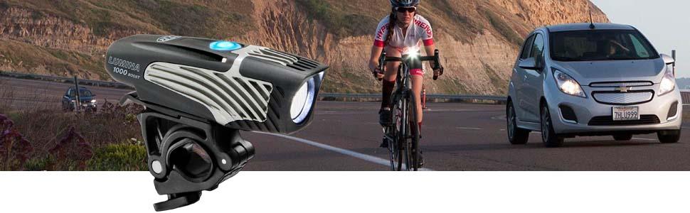 New in BOX NiteRider 1000 Lumina Boost  Rechargeable Bike Headlight 6782 Bicycle