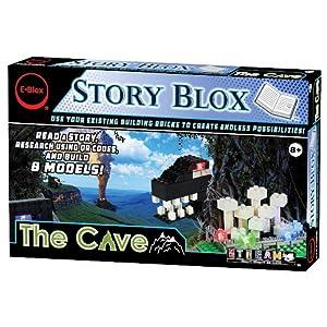 Amazon com: E-Blox Stories Blox Builder - The Cave LED Light-Up