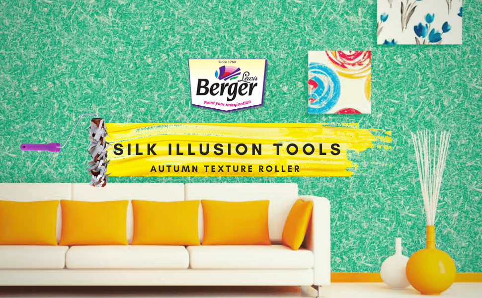 Berger, Silk Illusion Tools, Autumn roller