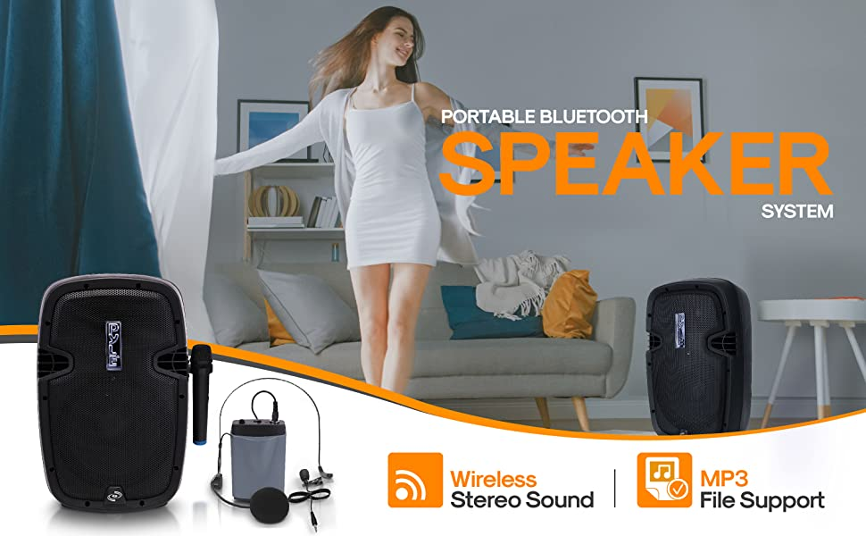Portable Bluetooth;bluetooth;speker;portable speaker;outdoor bluetooth speaker;party lights
