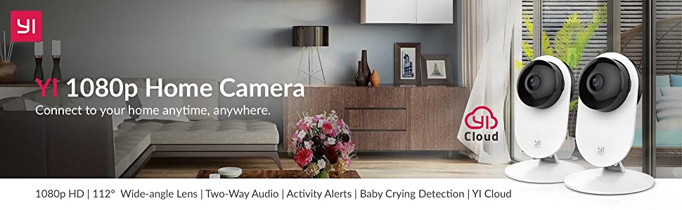 yi home camera security solution