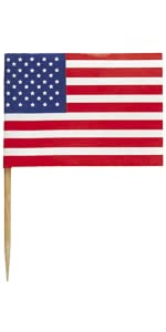 5e3f8e0fefa9 Amazon.com  6.45ft Paper Cutout Stars   Stripes 4th of July Garland ...