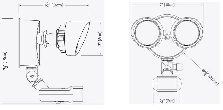lithonia lighting oflr 9ln 120 p bz integrated led 3