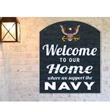 """Navy 22""""x16"""" inOutdoor Marquee Sign"""