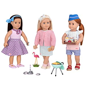 """Our Generation Doll Retro Accessory Set for 18/"""" Dolls You Choose Ages 3 New"""