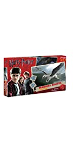 Harry Potter, Hogwarts, magical, beasts, game