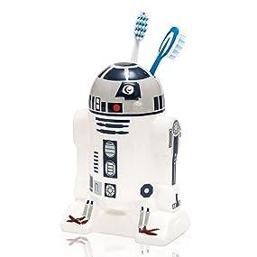 Star Wars R2 D2 Shape 21660 Ceramic Toothbrush Holder