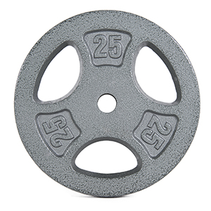 Pair of 2.5 lbs standard one inch cap weight plates gym fitness weightlifting