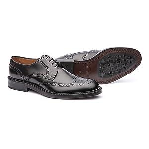 zapato oxford, zapato oxford pala vega trapado, brogue, zapatos lottusse hombre