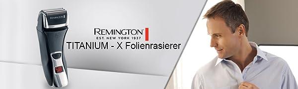Remington Titanium-X Dual Foil F7800 Afeitadora de Láminas ...