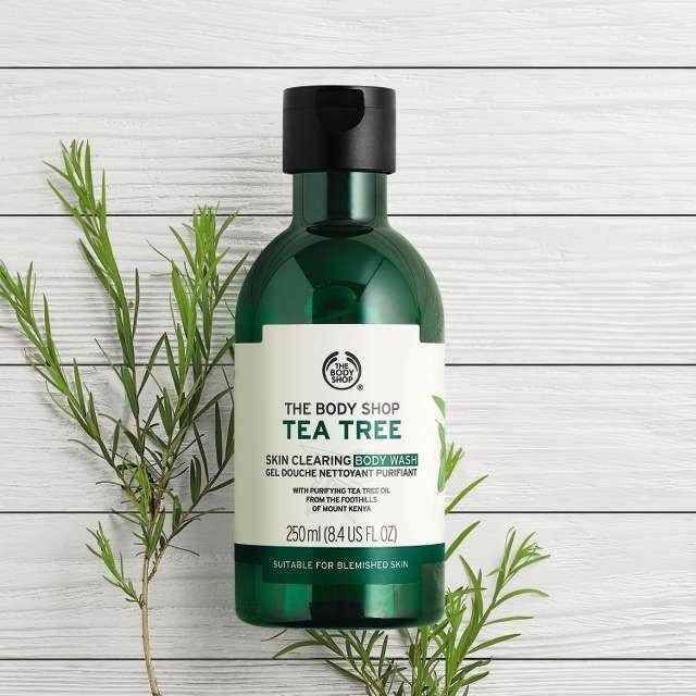 Image result for body shop tea tree body wash