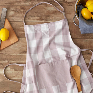 Chef Apron Laid On A Counter